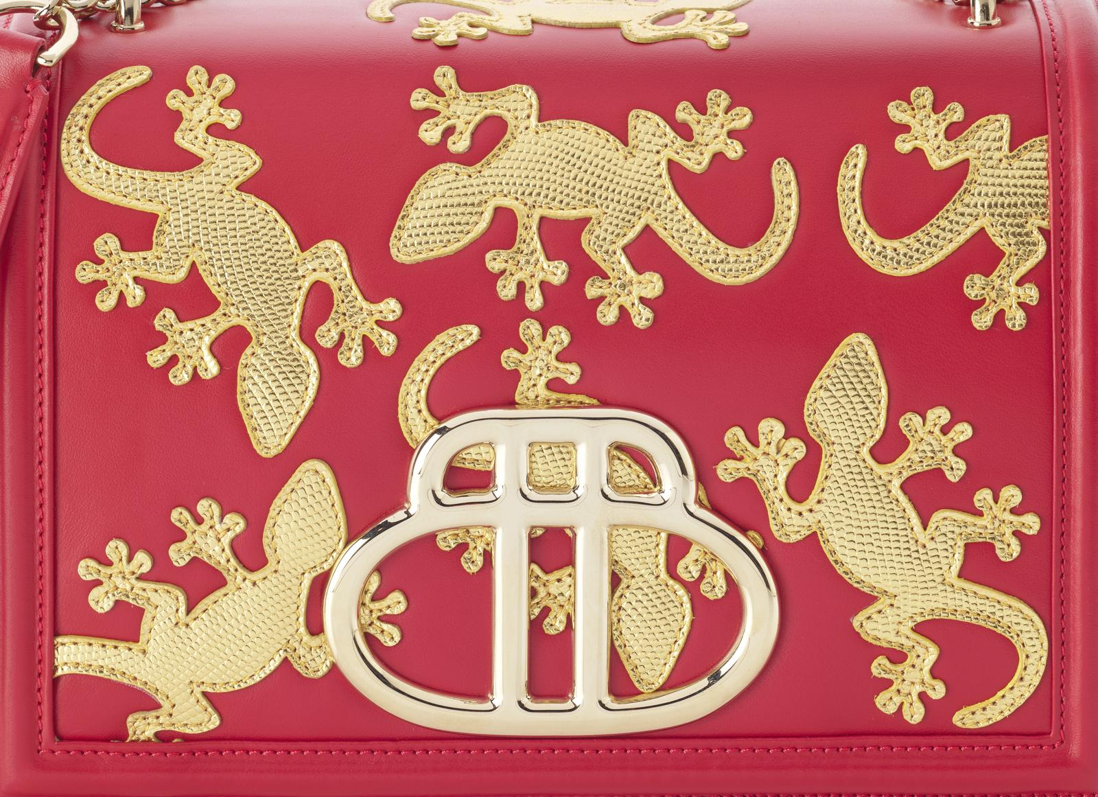 Geko Bag Barchi Red detail big